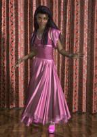 Pink Dress by xmas-kitty