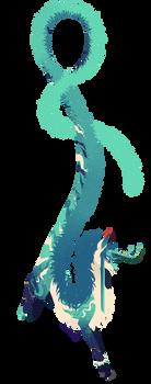 Kidauren Custom: Blue Jade Vine