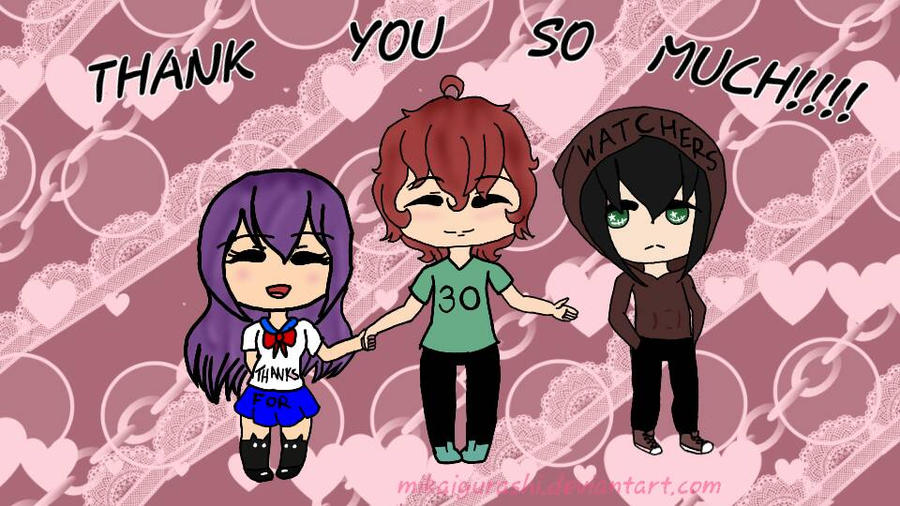 Thank You All for 30 Watchers!!!!! by MikaIgurashi