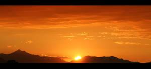 Natural Sun Set