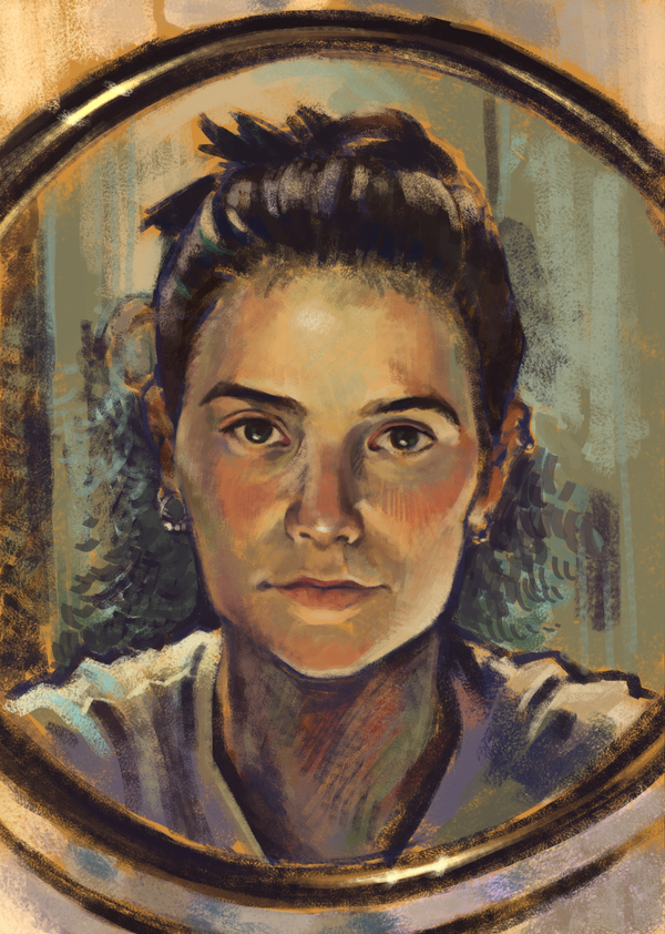 Self-Portrait by sunziba