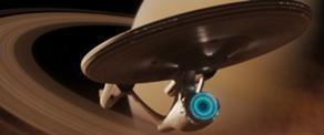 USS Enterprise (alternate reality) by JDayton