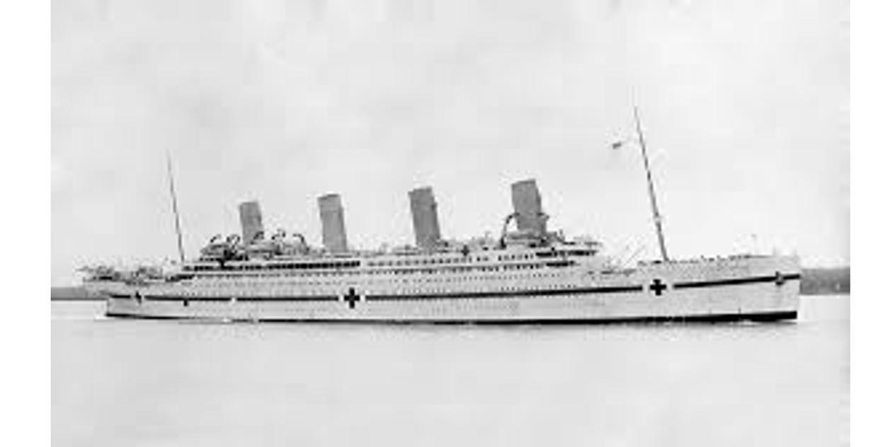 HMHS Britannic by JDayton