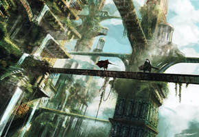 Skyfall city by oskart87
