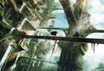 Skyfall city