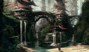 Hidden Oasis by oskart87