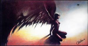 demonic wings