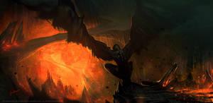 Lava Gargoyle by 88grzes