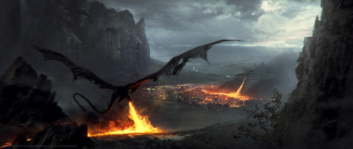Dragons by 88grzes