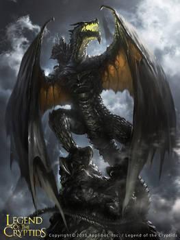 The Dark Knight Dragon