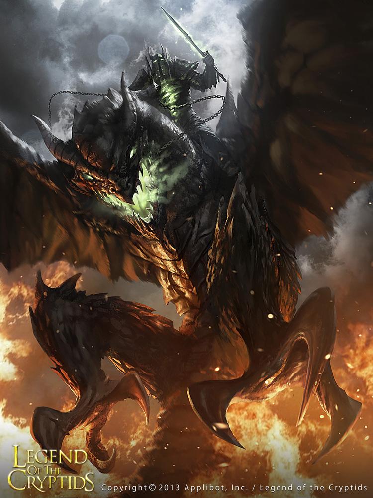The Dark Knight Dragon advanced by 88grzes