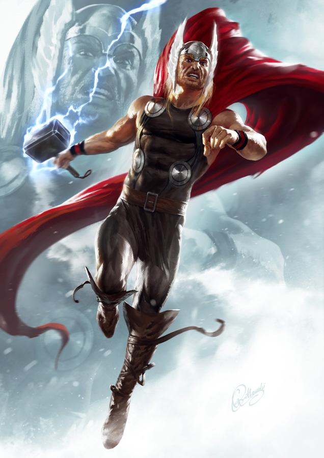 Thor by 88grzes