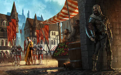 King and Assasins by 88grzes