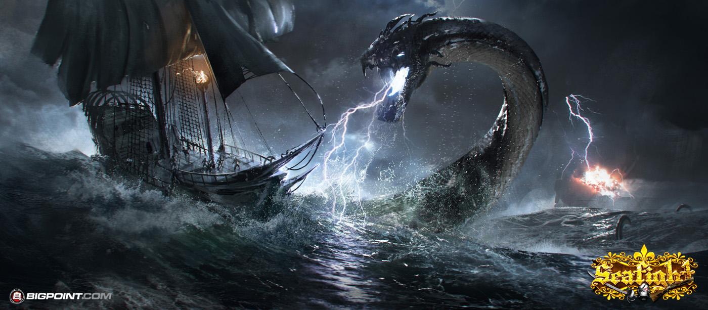 Sea Fight by 88grzes