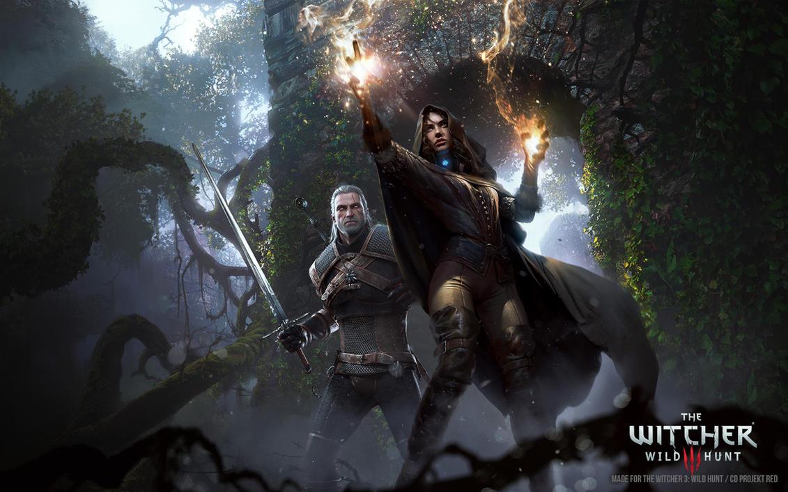 Witcher 3: Wild Hunt Promo Art by 88grzes