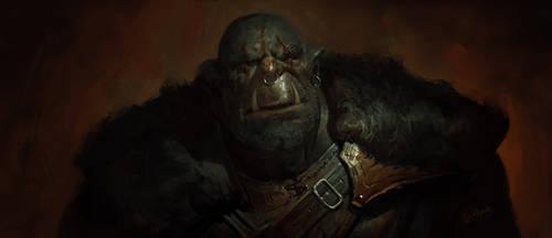 Orc Veteran by 88grzes