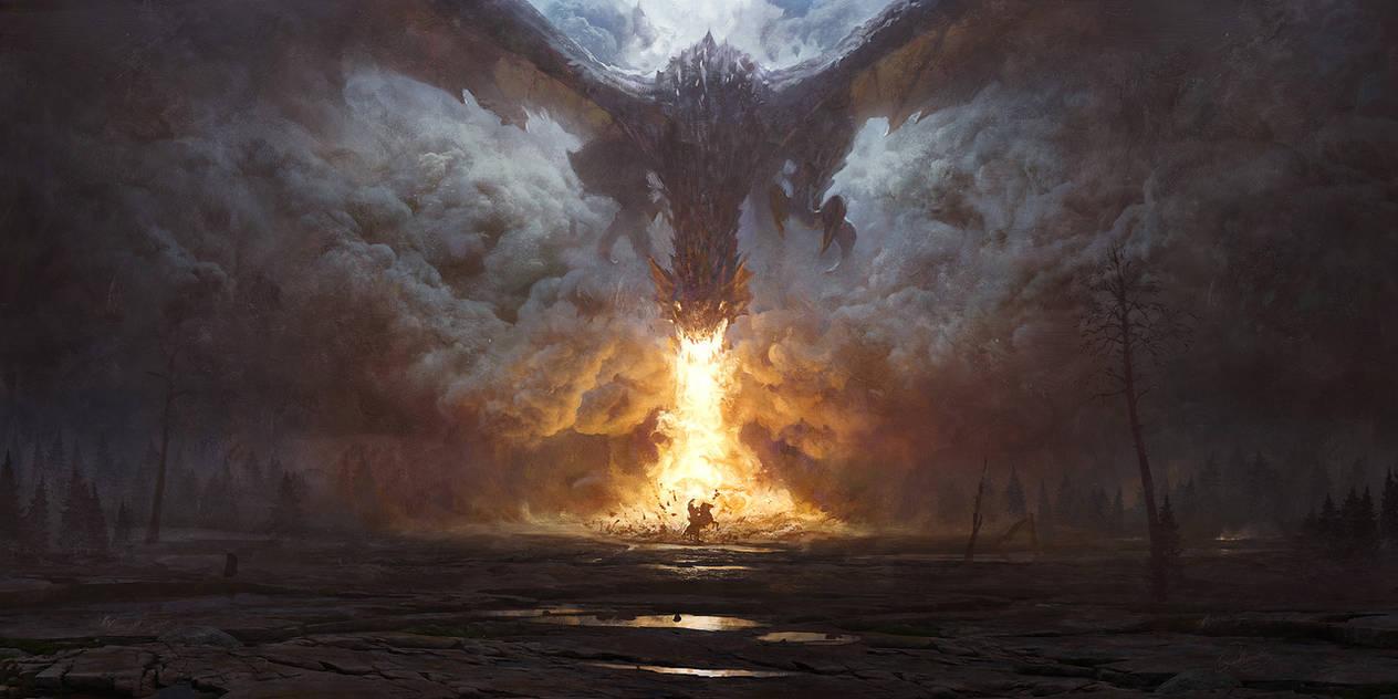 Dragon's Breath by 88grzes