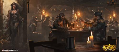 Pirate Tavern by 88grzes