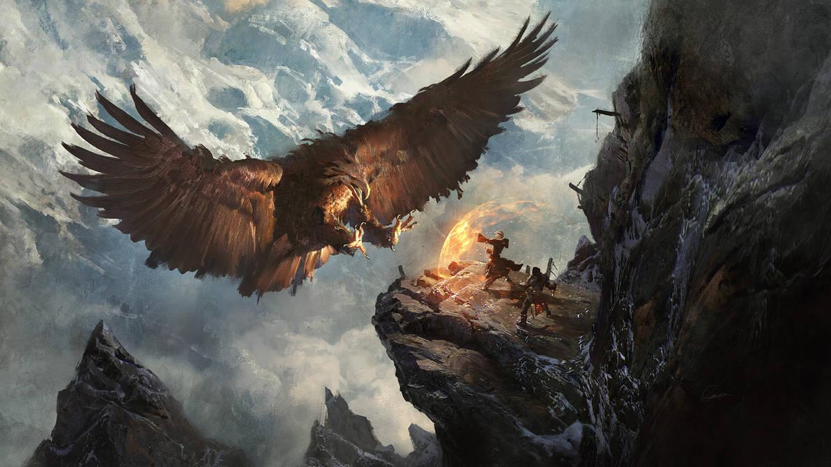 Secret Pass - Eagle Nest by 88grzes