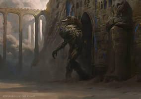 The Scorpion God - Magic the Gathering