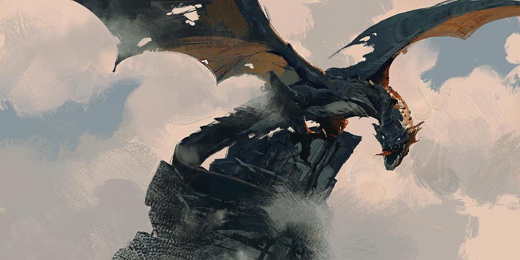 Философия в картинках - Страница 5 Dragon_rock_by_88grzes-dbwt5g9