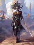 Vraska, Scheming Gorgon - Magic the Gathering