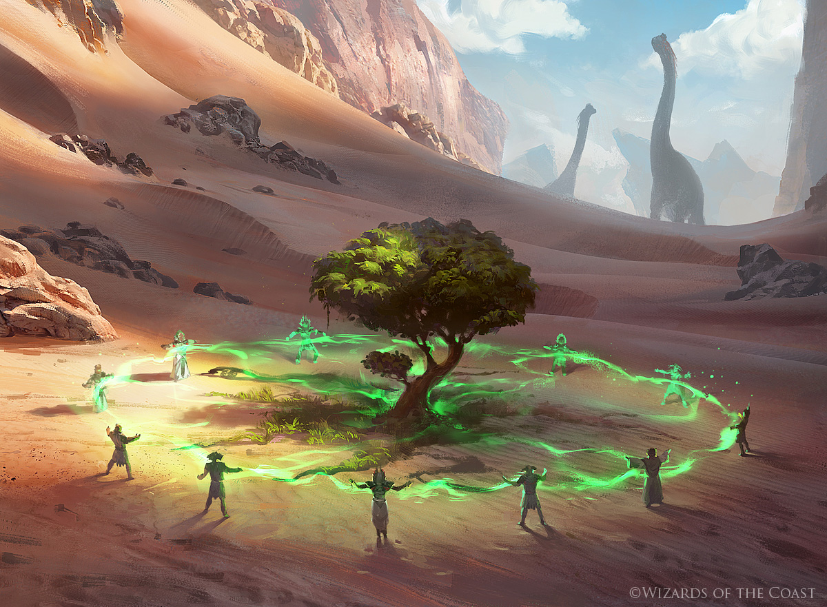 Growing Rites of Itlimoc - Magic the Gathering by 88grzes