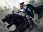 Aryel, Knight of Windgrace - Magic the Gathering
