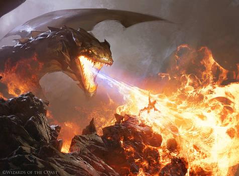 Shivan Fire - Magic the Gathering