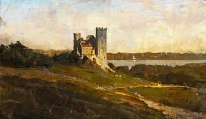 Castle landscape study by 88grzes