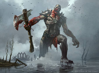 Rot Hulk - Magic the Gathering by 88grzes