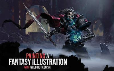 Fantasy illustration - Video tutorial by 88grzes