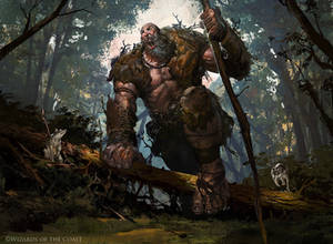 Howling Giant - Magic the Gathering