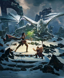 Dragon of Icespire - Dungeons and Dragons by 88grzes