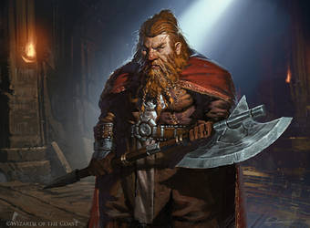 Torbran, Thane of Red Fell - Magic the Gathering by 88grzes