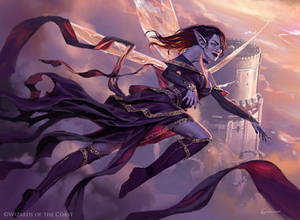 Alela, Artful Provocateur - Magic the Gathering