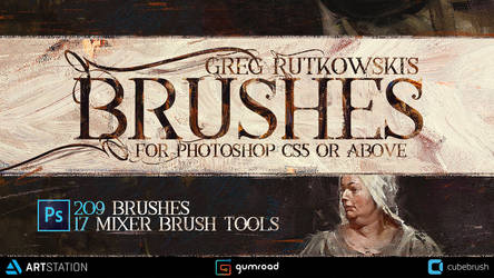 Greg Rutkowski - Brushes