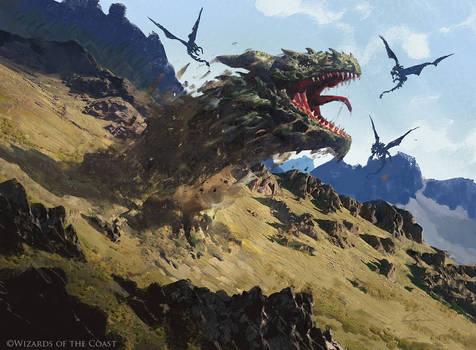Greater Sandwurm - Magic the Gathering