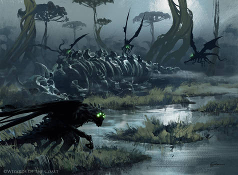 Death's Oasis - Magic the Gathering