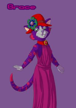 Kitty Club Anthro - Grace