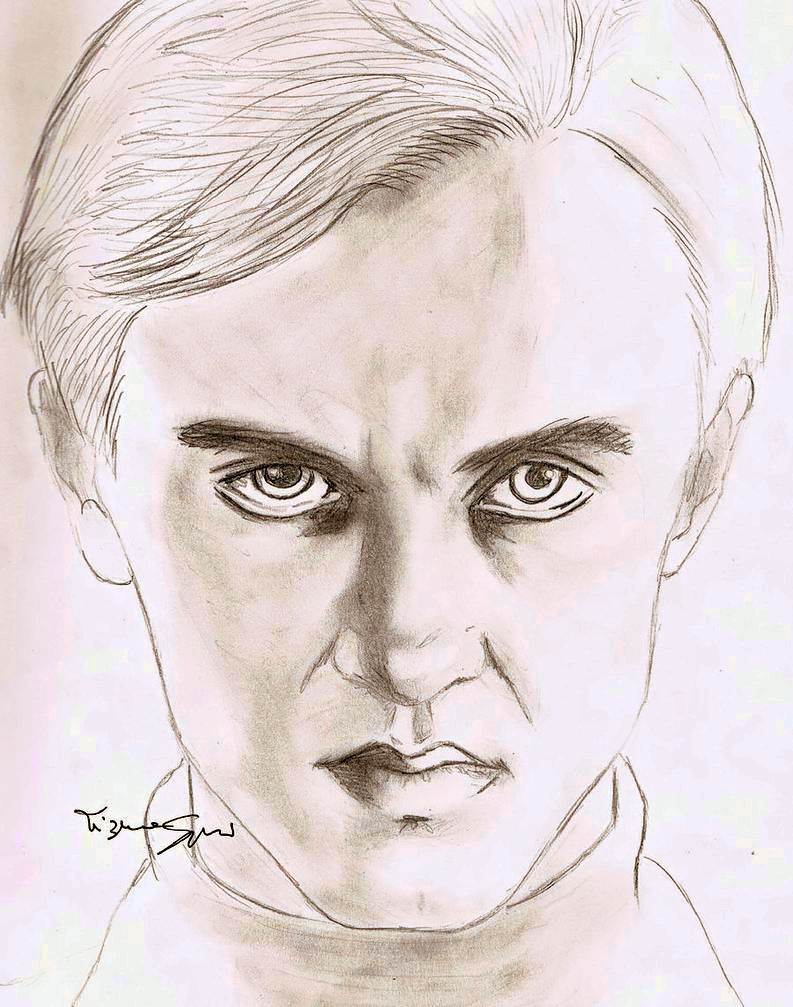 Draco Malfoy By Volky On Deviantart