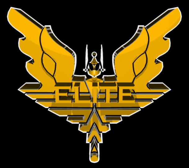 'Elite' Logo by cavemanjim