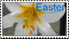 Easter Lily Stamp by KTstamps