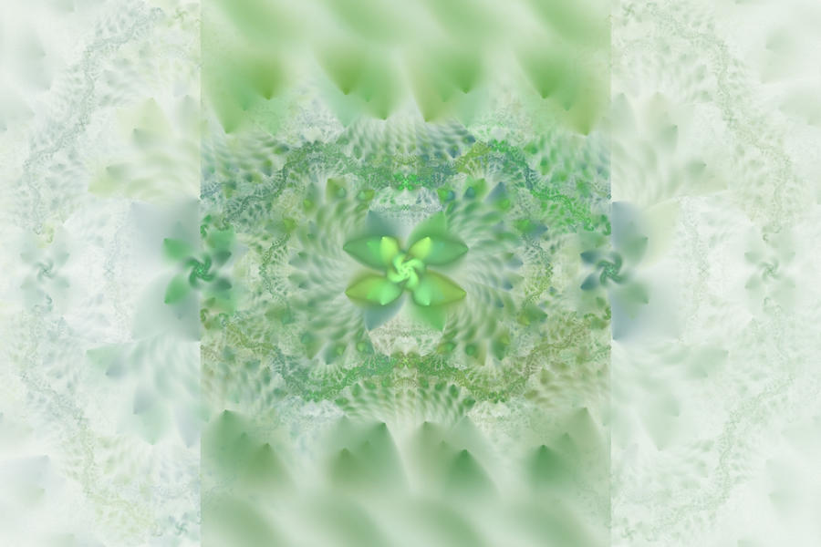 grass in glass