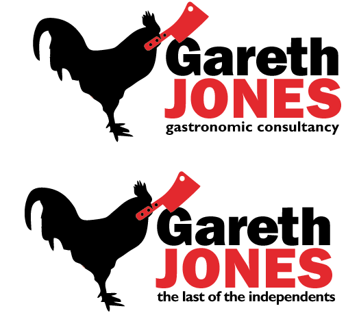 Gareth Jones logo by mapgie