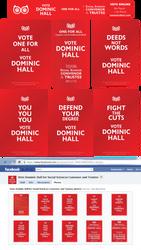Dominic Hall 2011 Campaign