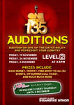 1 out of 135 Auditions