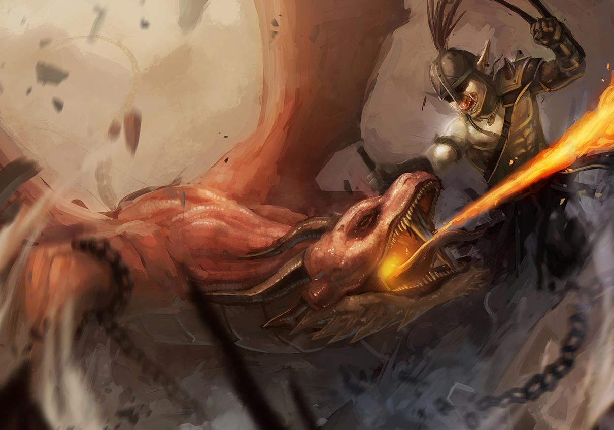Dragon hunter by kirogi-dog