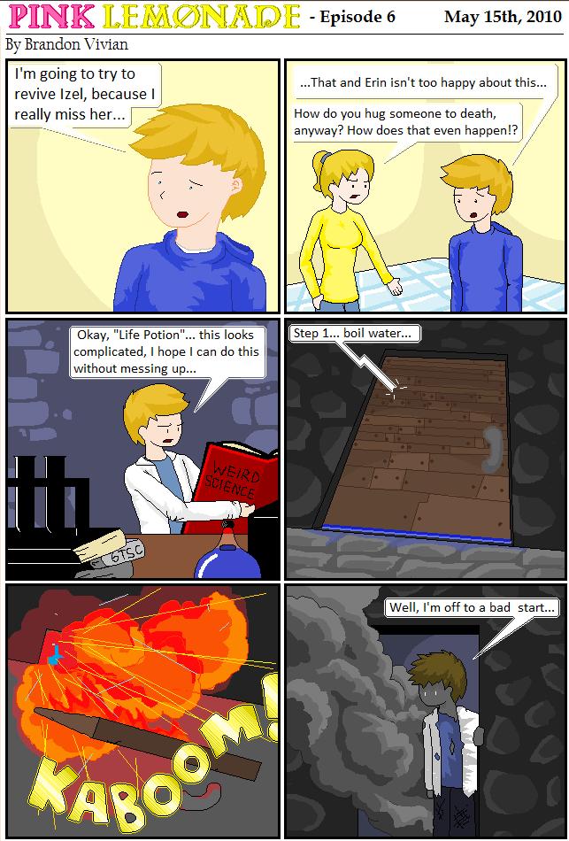 комикс лимонад 1 часть