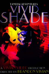 Vivid Shade Movie Poster Concept Mockup by Freeevian